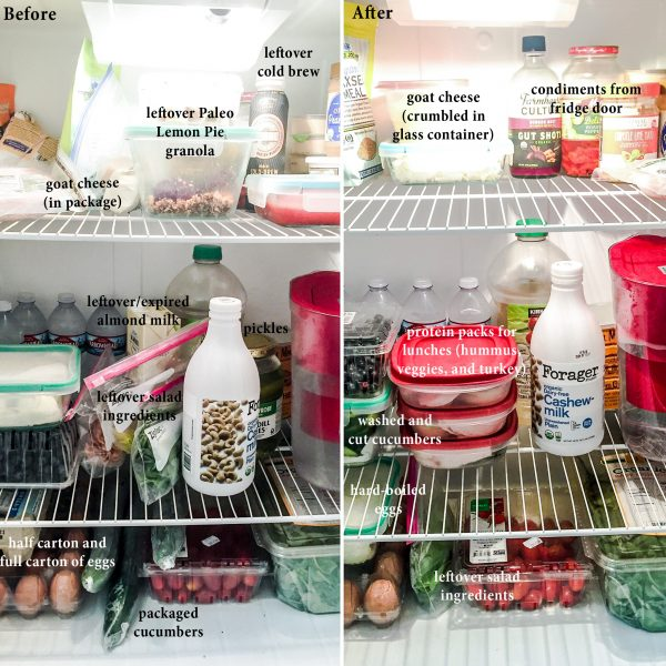 Editing Your Kitchen: Weekly Fridge Inventory