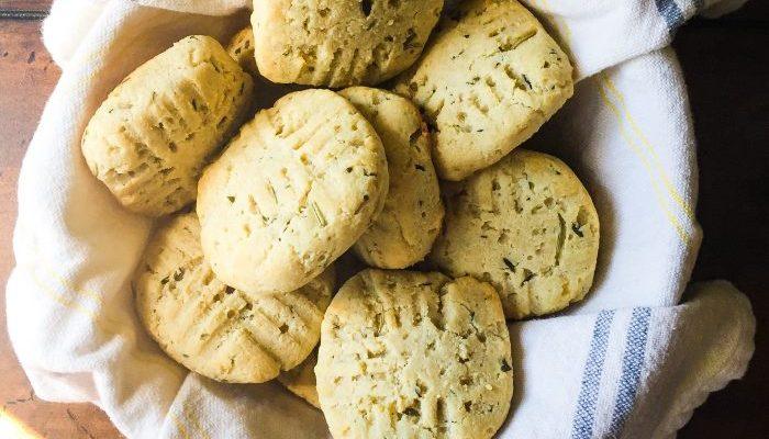 Grain-Free Almond Flour & Herb Biscuits
