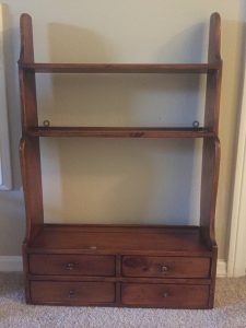 DIY Spice Shelf Beginning