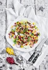 Salata cu piept de pui si porumb