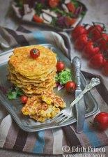 Pancakes cu porumb si branza