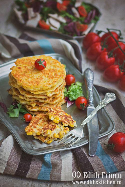 pancakes-cu-porumb-si-mozzarella