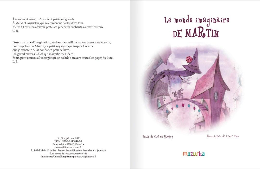Le monde imaginaire de Martin- page 3