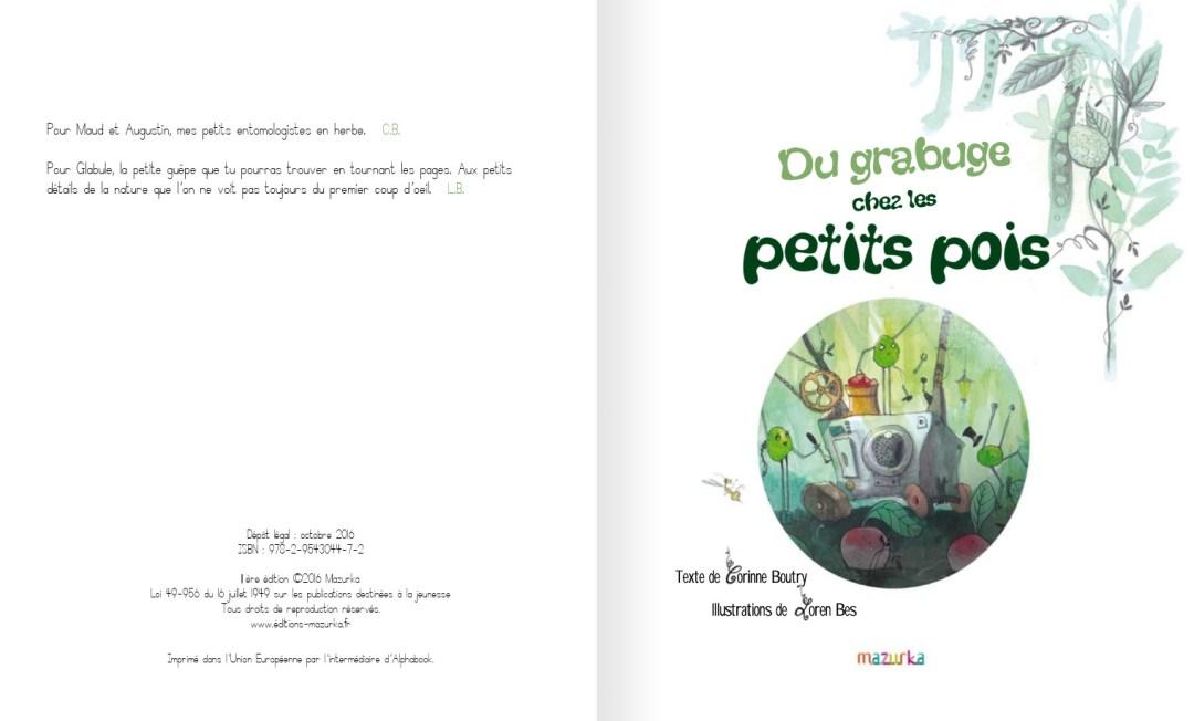 Du grabuge chez les petits pois - page 3