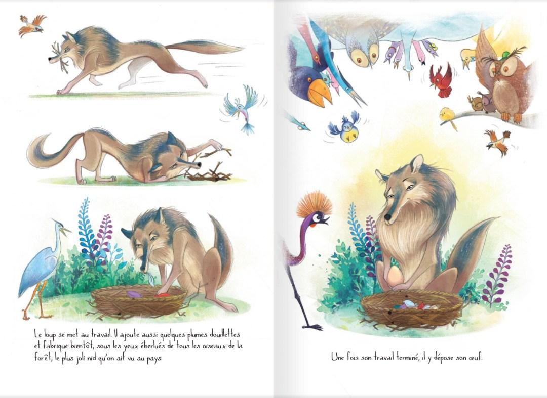 Une faim de loup ! - page 7