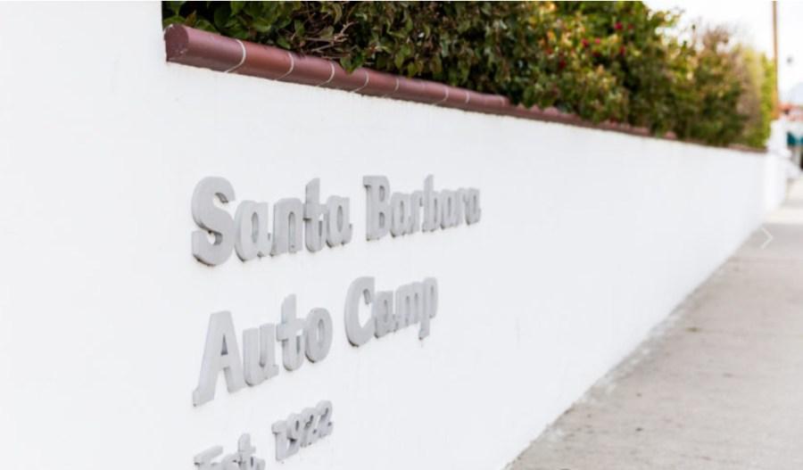 autocamp santa barbara wall
