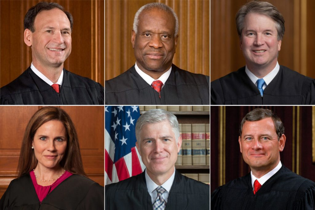 At least four justices want to overturn Roe