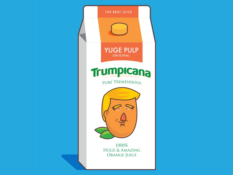 How much juice do the Republicans think is left in the Trump squeeze? Because, that's all they got