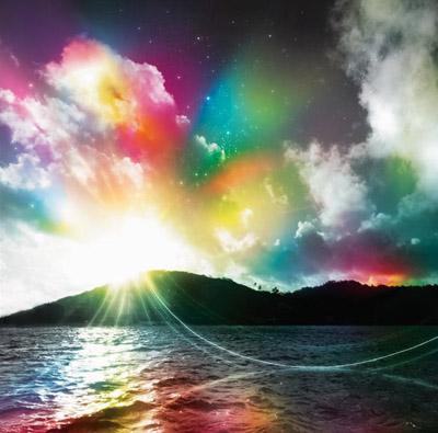 Una escena esitérica de tierra y cielos ilustra el estudio bíblico sobre cómo alcanzar la corona incorruptible de vida eterna.