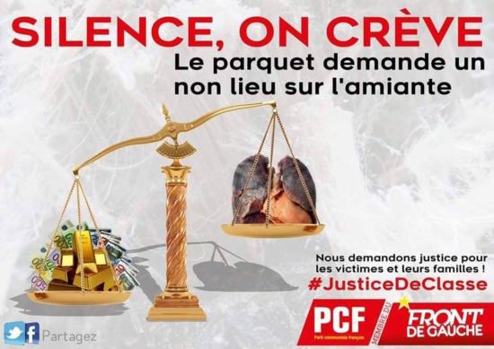 Déni de justice pour les victimes de l'amiante! (PCF)