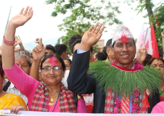 Népal : Les communistes (CPN-UML) remportent la capitale provinciale Ghorahi