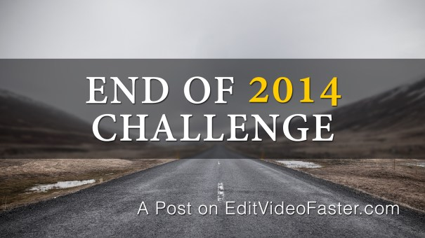End of 2014 Challenge Are you in?