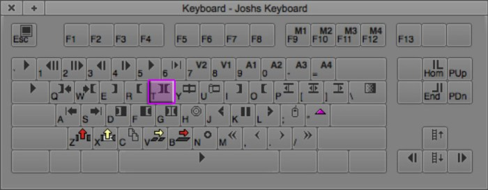 Mark Clip Keyboard Shortcut in Avid