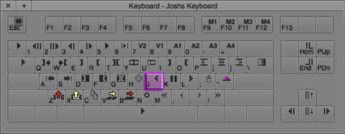 Play Reverse Keyboard Shortcut in Avid