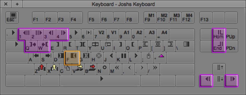 Lesson 3 Keyboard Shortcuts - Moving in Avid