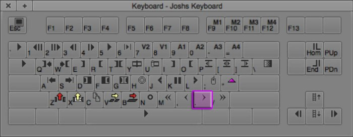 Trim Right 1 Frame | Trimming Keyboard Shortcut in Avid