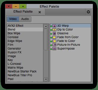 3D Warp Effect in Effect Palette