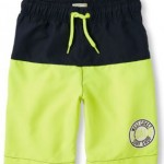 young boy's swim trunks