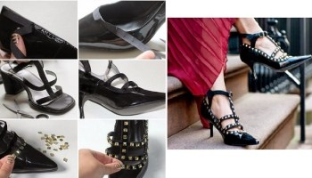 edcdab1f0f5 8 Τρόποι για να μετατρέψεις τα παλιά ψηλοτάκουνα παπούτσια σου!