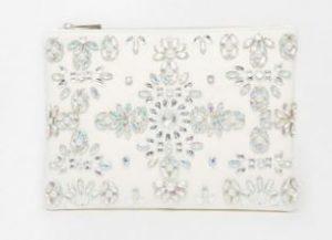 jewel clutch bag