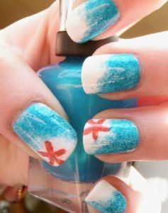 ombre me asteria nail art