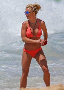 Britney-Spears korali bikini