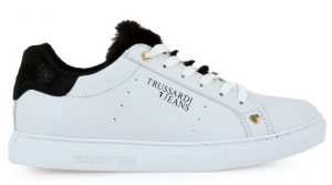 leuka gynaikeia sneakers