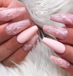 pink water marble