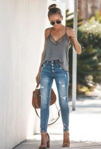 casual outfit, psilomeso jean