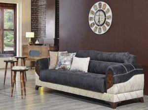 χειμερινός καναπές βελούδο