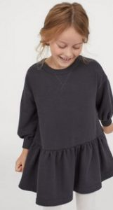 μαυρο παιδικο φορεμα h&m