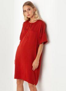 κόκκινο φόρεμα toi moi