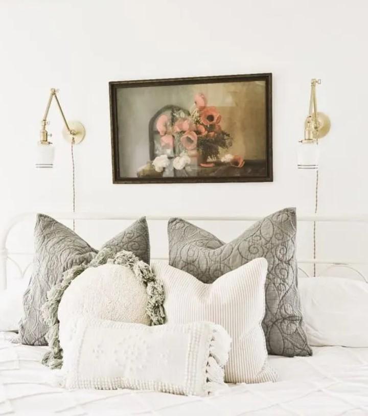 απλίκες κρεβατιού
