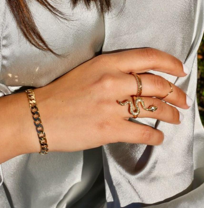 δαχτυλίδι φίδι
