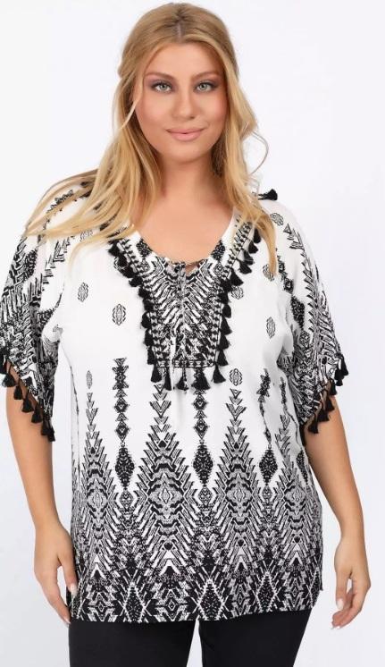γυναικεία μπλούζα με κρόσσια καλοκαίρι 2021