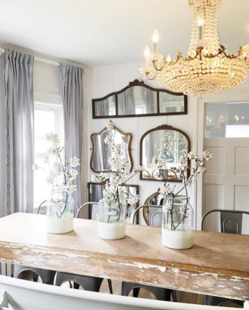 διακόσμηση σπιτιού με καθρέπτη