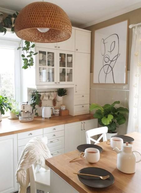 κουζίνα boho φωτιστικό boho κουζίνα