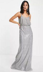 λαμπερό φόρεμα