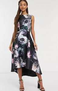 midi καλοκαιρινό φόρεμα