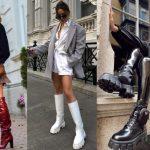 χειμερινά παπούτσια της μόδας