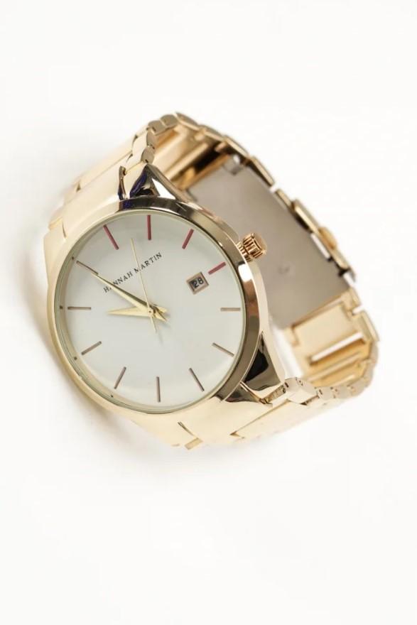 χρυσό γυναικείο ρολόι
