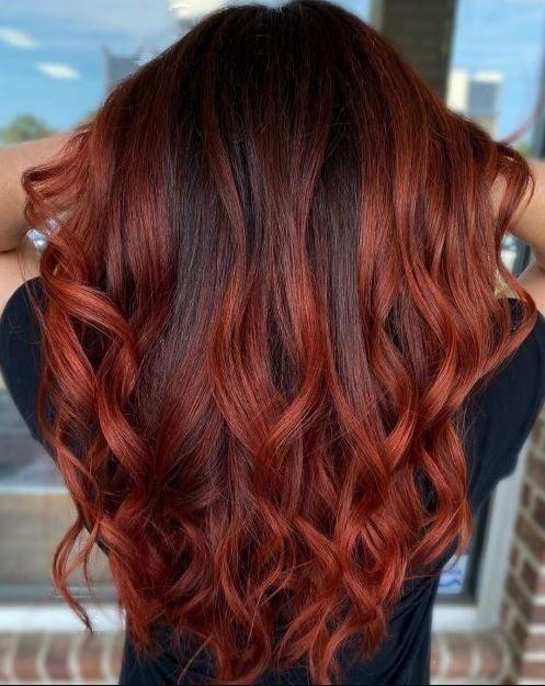 πορτοκαλί άκρες μαλλιών