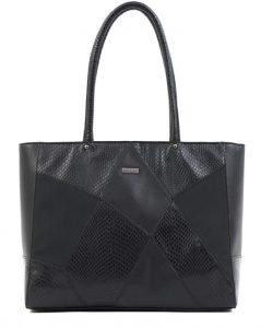 μαύρη τσάντα χειρός