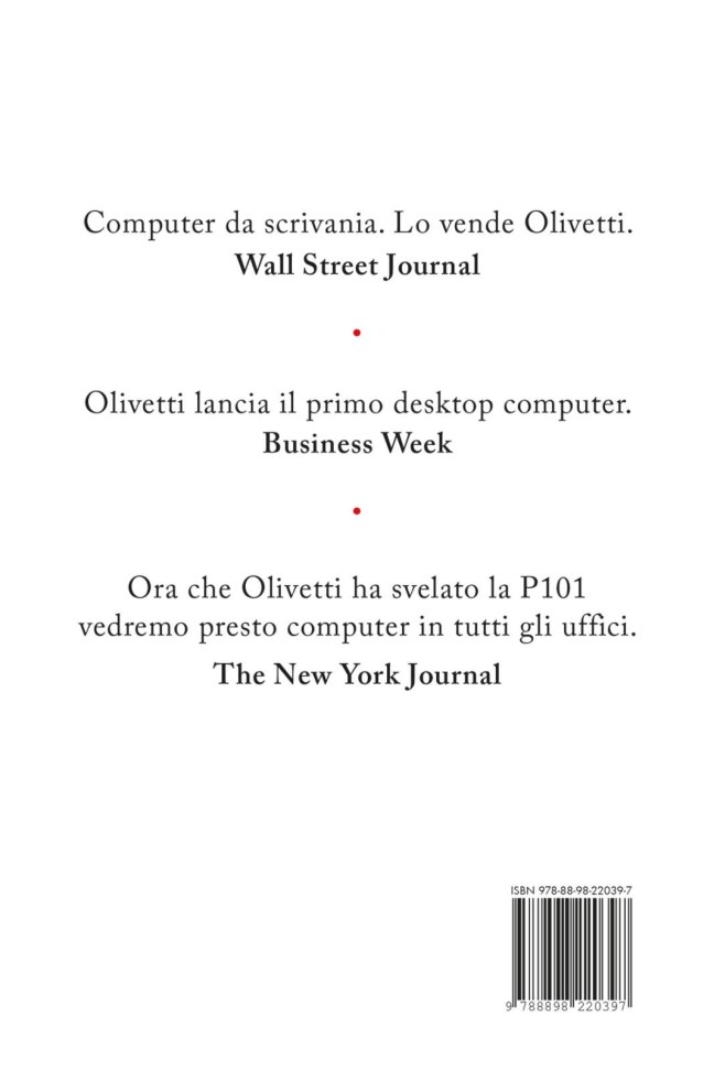 Quarta – P101 – Pier Giorgio Perotto