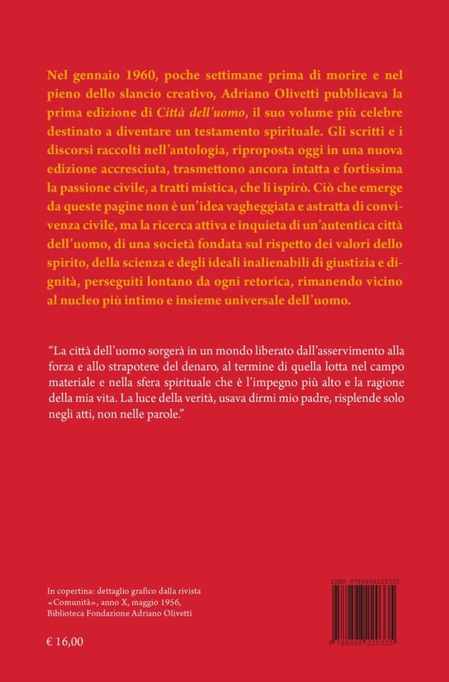 Quarta – Città dell'uomo – Adriano Olivetti