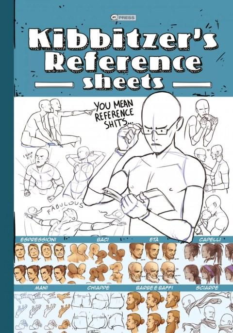 Copertina della raccolta di referenze umane disegnate da Kibbitzer