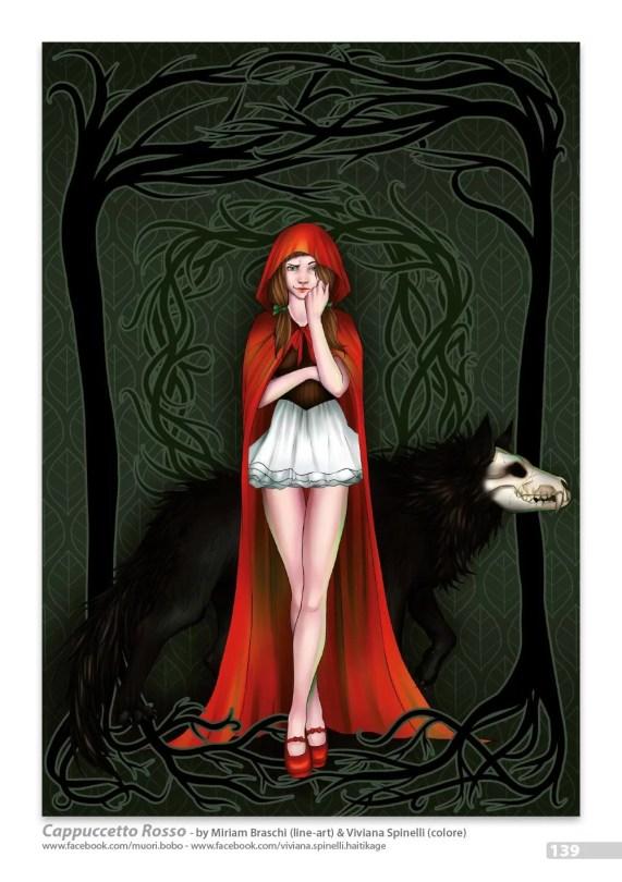 Una versione oscura dei personaggi della famosa fiaba: Cappuccetto Rosso e il Lupo Cattivo