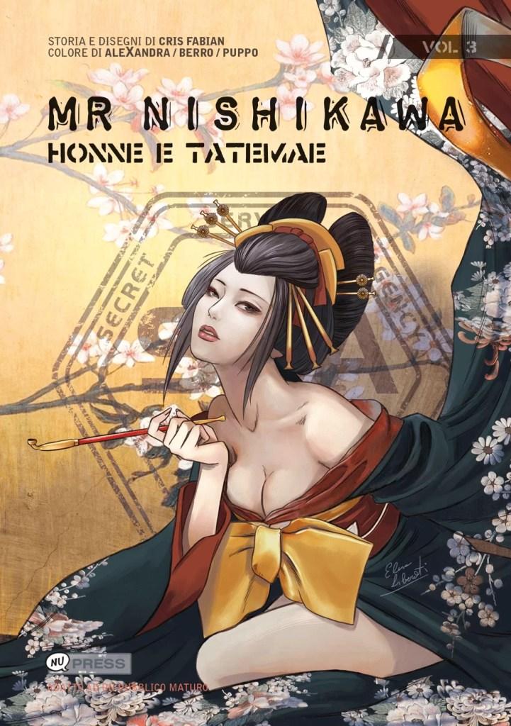 Mr Nishikawa 3 - Honne e Tatemae - Copertina del volume