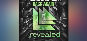 #Release | Thomas Newson & Manse – Back Again