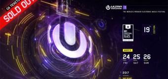 Ultra Music Festival 2017: Tutti i nomi del mainstage
